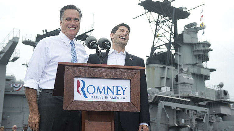 Romney elige a Paul Ryan como su candidato a vicepresidente 