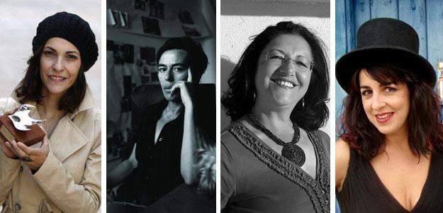 Paula Ortiz, Carmela García, Inma Chacón y Amparo Sánchez