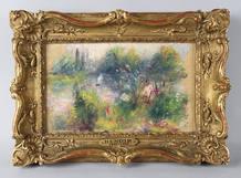 'Paysage bords de Seine', de Renoir