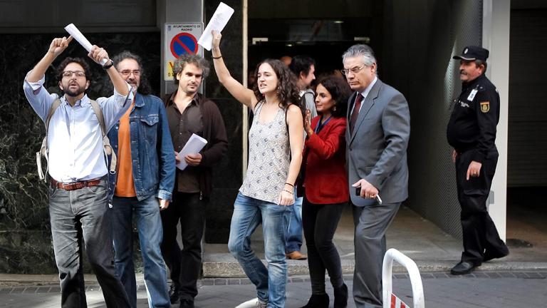 """El auto del juez Pedraz sobre el 25S dice que la clase política está en """"decadencia"""""""