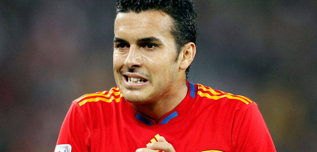 Pedro, jugador de la seleccion