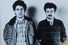 Pedro Almodóvar y Javier Mariscal en los 80