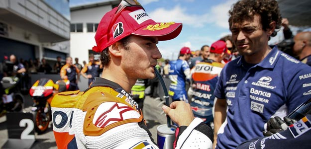 Dani Pedrosa, segundo mejor tiempo en los entrenamientos oficiales del GP de Portugal