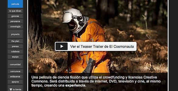 La película 'El cosmonauta' es uno de los primeros proyectos españoles financiados de este modo