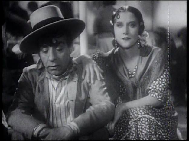 La película 'Suspiros de España', rodada en 1938, no se proyectó en la zona republicana.