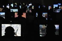 Ciudadanos chinos en un ciber café en Taiyuan, en la provincia china de Shanxi