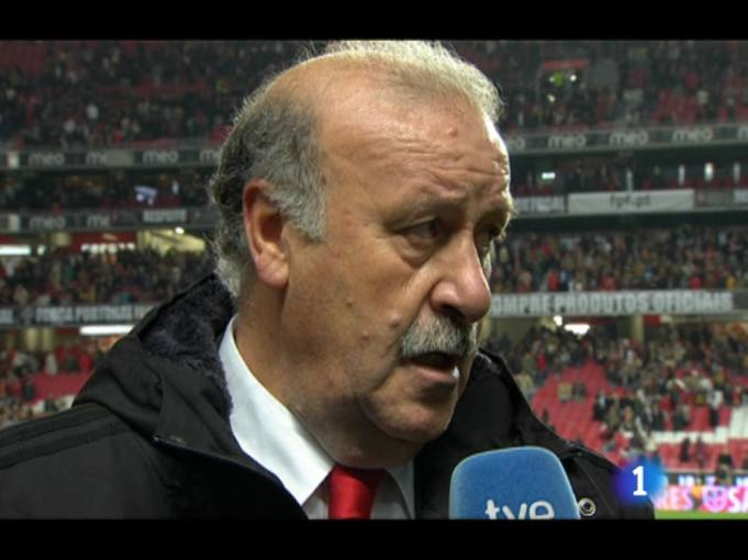 Del Bosque: 'Peor no podemos jugar&quot;