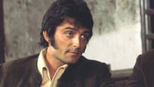 Pepe Sancho en su papel de El Estudiante, en la serie de TVE, Curro Jimenez