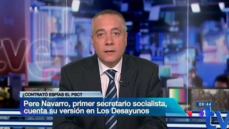 Los desayunos de TVE - Pere Navarro, primer secretario del PSC