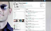 Perfil de Risto Mejide en Twitter