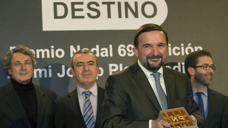 El periodista cultural Sergio Vila-Sanjuán gana el 69º Premio Nadal de Novela 2013