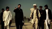 El periodista Jeremy Scahill en un momento del rodaje del documental en Afganistán.