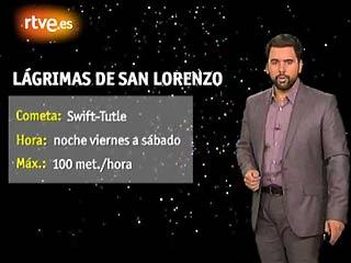 Ver vídeo  'Las Perseidas o lágrimas de San Lorenzo'