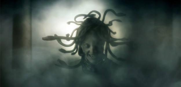 La Medusa, con su cabeza llena de serpientes