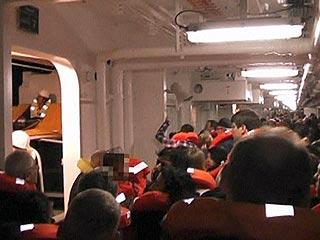 Ver vídeo  'Pesadilla frente a la costa italiana'