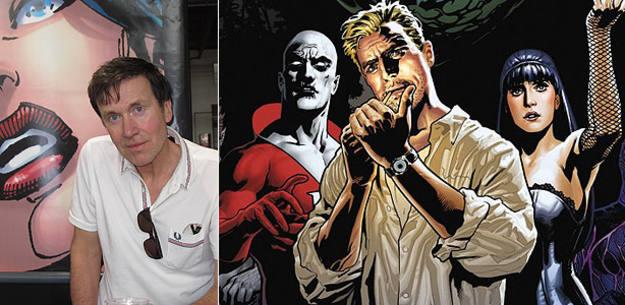Peter MIlligan en el Salón del cómic de Barcelona y 'La liga de la Justicia Oscura'