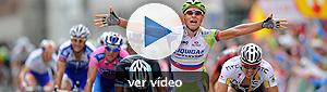 Peter Sagan pesca su segunda victoria en el sprint de Pontevedra