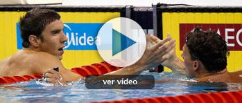 Phelps, segundo en los 200 libre por detrás Lochte