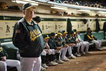 Philip Seymour Hoffman es un escéptico entrenador en 'Moneyball'