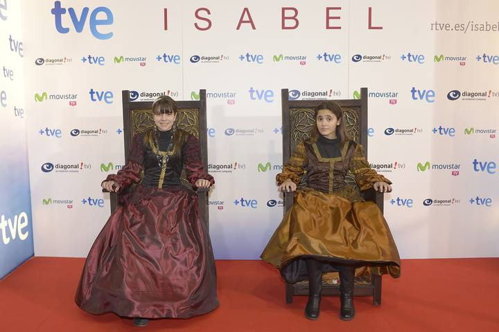 ... de 'Isabel' en el cine Capitol el 2 de diciembre de 2013