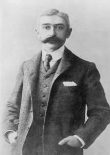 El pedagogo e historiador francés Pierre de Coubertin, conocido por ser el fundador de los Juegos Olímpicos Modernos