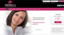 """Pilar Roch, gerente de la red social Womenalia: """"La crisis empuja a las mujeres a emprender"""""""