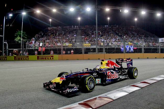 El piloto alemán de Fórmula 1, Sebastian Ve