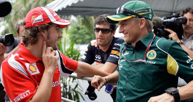 El piloto español, Fernando Alonso.