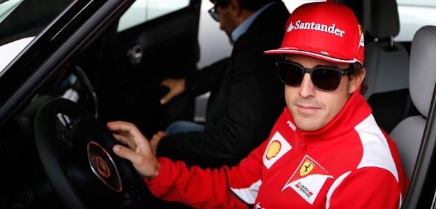 El piloto español Fernando Alonso, en el circuito de Spa-Francorchamps