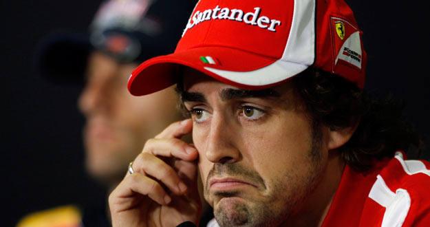 Alonso en el GP de España