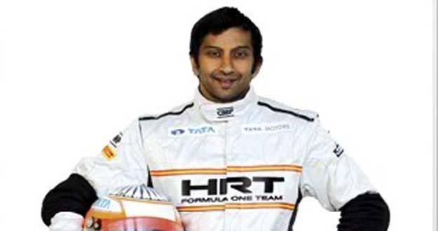 El piloto indio Narain Karthikeyan
