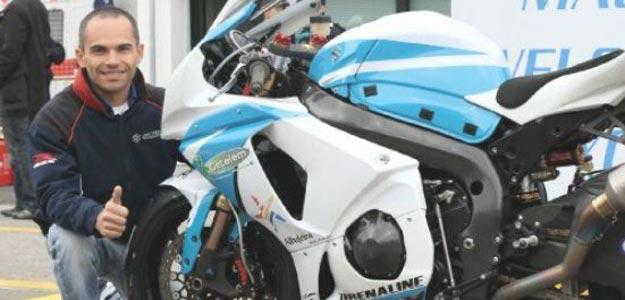 El piloto de superbikes, Luis Filipe Carreira