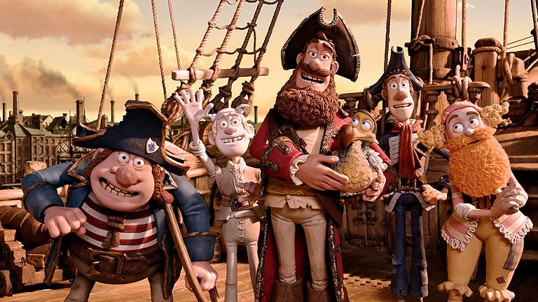 'Piratas', una nueva fantasía animada de Aardman