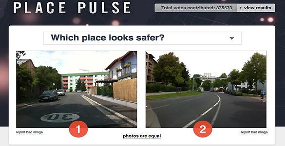 Place Pulse trabaja en un nuevo método para entender la percepción de las multitudes