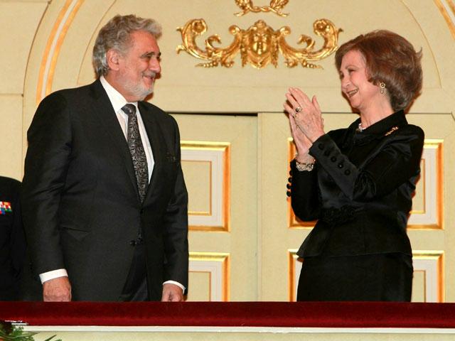 Plácido Domingo celebra su 70 cumpleaños en el Teatro Real de Madrid