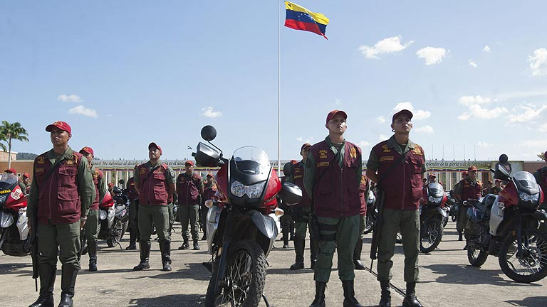 El Ej&eacute;rcito de Venezuela sale a la calle para atajar los altos &iacute;ndices de criminalidad
