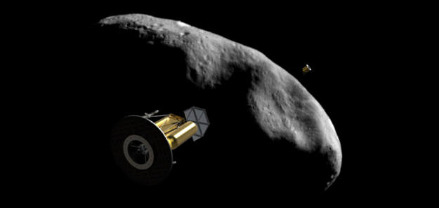 El desarrollo de la tecnología permitirá que los asteroides elegidos ¿principalmente con abundancia de agua¿sean mapeados y analizados en busca de materias primas interesantes.