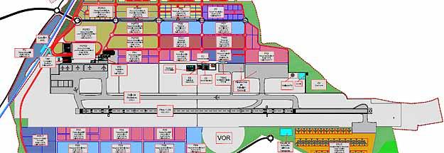 El 39 aeropuerto central ciudad real 39 ya tiene permiso para - Plano de ciudad real ...