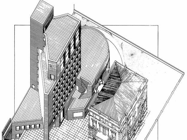 Planos del edificio Bankinter de Madrid