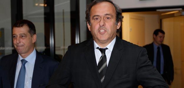 PLATINI, PRESIDENTE DE LA UEFA