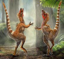 'Nature' acaba de desvelar las tonalidades de las plumas del pequeño 'Sinosauropteryx'