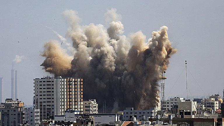 La población de Gaza vuelve a refugiarse tras el fin de la tregua