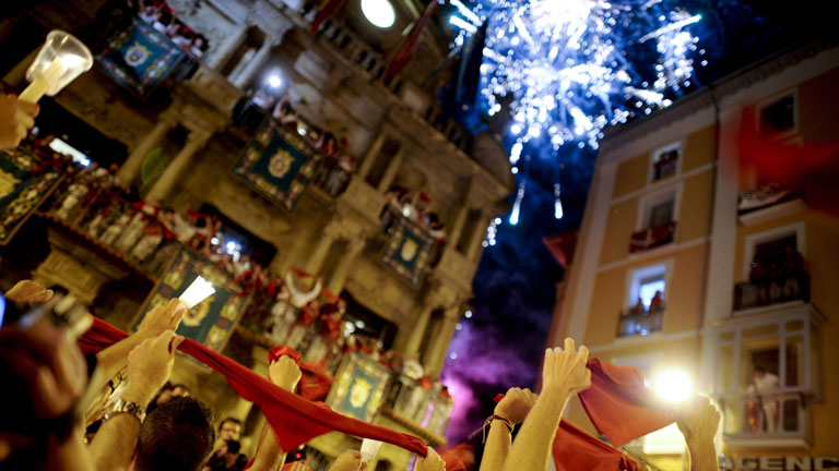 El 'Pobre de m&iacute;' clausura los sanfermines 2012