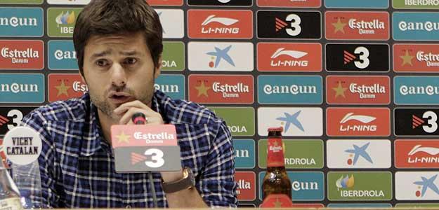 Mauricio Pochettino, técnico del Espanyol, ha querido dar un paso adelante y desmentir las informaciones sobre su posible marcha al Sampdoria