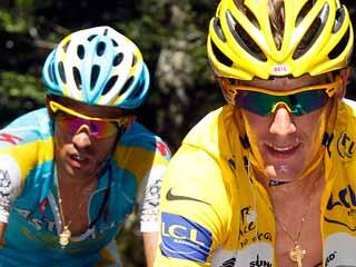 Ver v?deo  'Polémica en torno a Contador y Schleck'