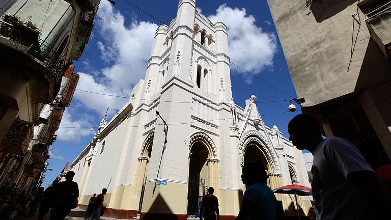 Polémico encierro de disidentes en una iglesia de La Habana
