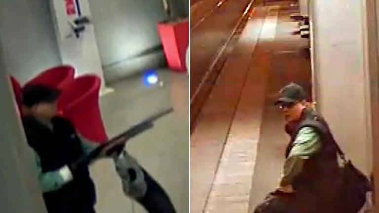 La policía francesa difunde imágenes del sospechoso de un doble tiroteo