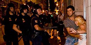 La Policía Nacional investigará las agresiones a manifestantes laicos