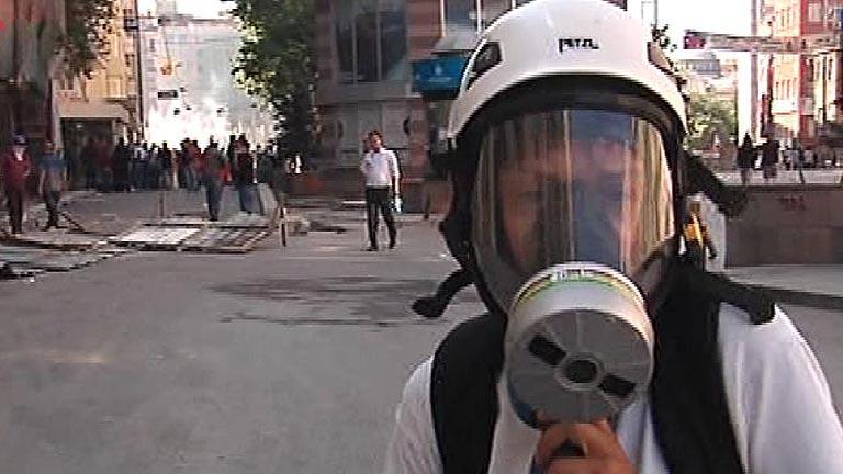 Directo de la enviada especial de TVE, Anna Bosch, en Taksim