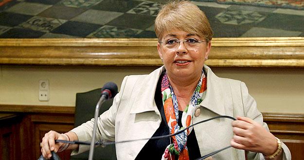 La consejera de Asuntos Sociales de Ceuta, Carolina Pérez (PP), en una foto de archivo
